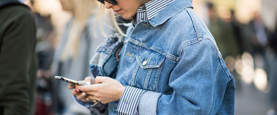 куртка джинсовая фото