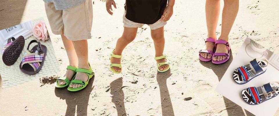 Детские босоножки и сандалии фото