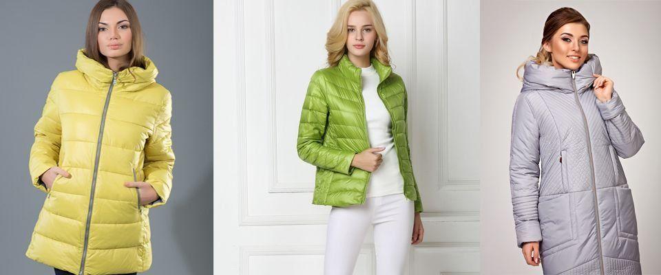 пуховые женские куртки фото