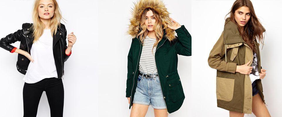 Купить женскую осеннюю куртку спб