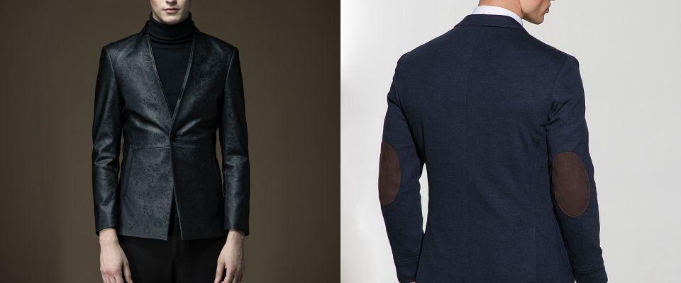 кожаные мужские пиджаки и жакеты фото