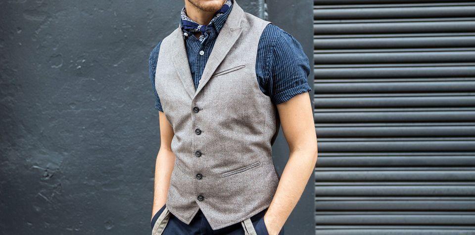 Мужские жилеты фото