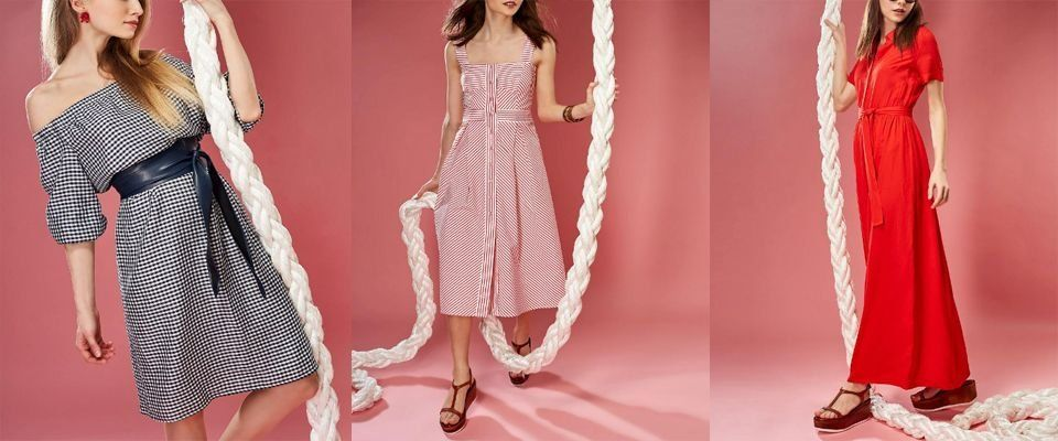 Женские платья Pompa фото