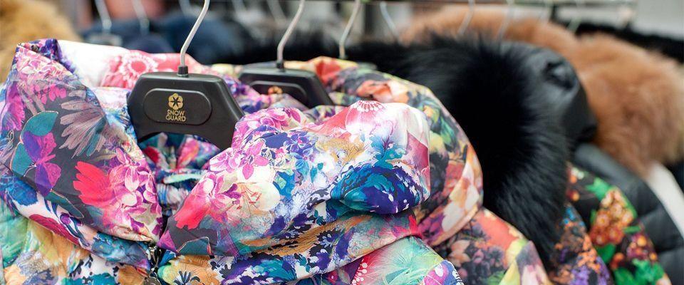 женские пуховики российского производства фото