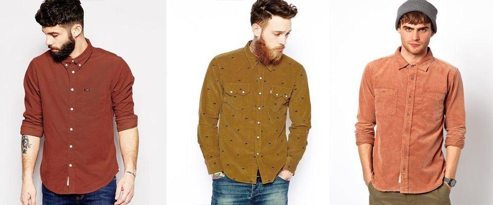 вельветовые мужские рубашки фото