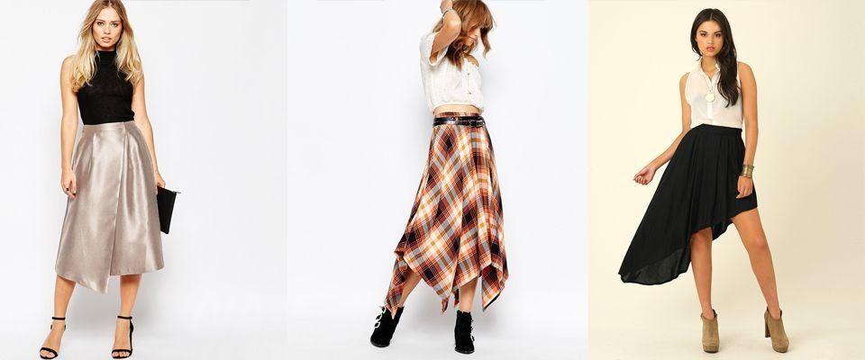Асимметричная юбка доставка