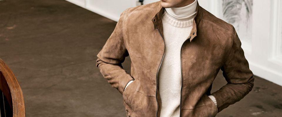 замшевые мужские куртки фото