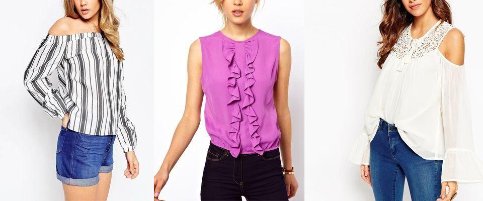 летние блузки фото