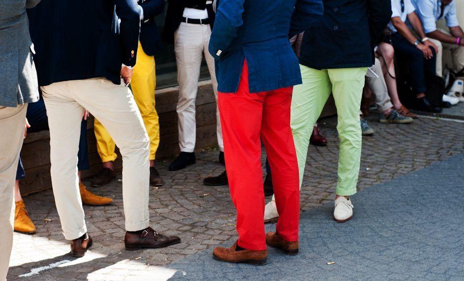 Мужские брюки фото