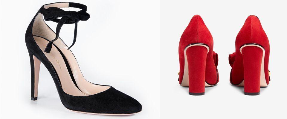 замшевые женские туфли фото