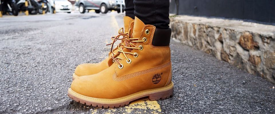 желтые мужские ботинки фото