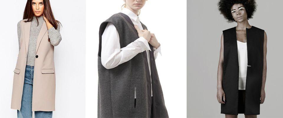 шерстяные женские жилеты фото